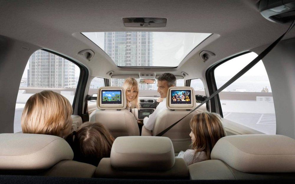 Комфортный семейный автомобиль